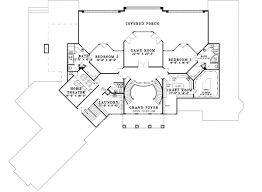 grand staircase floor plans double staircase 59954nd architectural designs house plans
