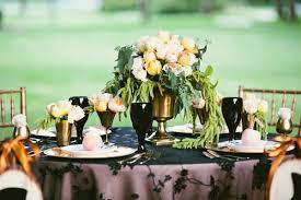 black and gold wedding ideas and black wedding ideas ruffled
