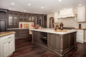 Kitchen Dish Rack Ideas Walnut Kitchen Cabinets Granite Countertops Dark Table Design