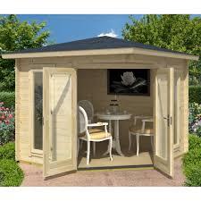 Garden Summer Houses Corner - norland scottie corner summer house