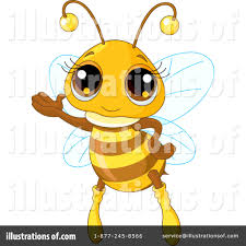 bee clipart 223850 illustration by pushkin