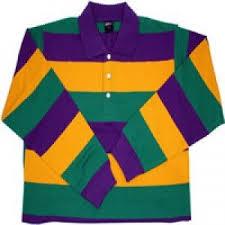 mardi gras polo shirt mardi gras sleeve polo shirt x large clothing