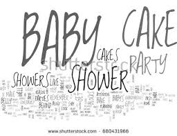 baby shower cakes guaranteed tickle your stock vector 680431966