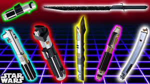 Light Saber Color Meanings Top 7 Lightsaber Colours And Meanings Canon Star Wars