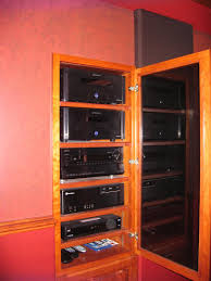 component rack for home theater help with av closet rack through wall design avs forum home