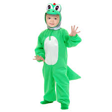 dino halloween costume yoshimoto the green dino child costume buycostumes com
