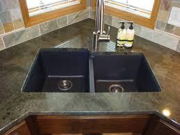 backsplash undermount composite granite kitchen sinks kitchen