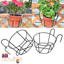 Flower Pot Holders For Fence - fence pot holder ebay