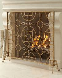 Fireplace Metal Screen living in the 513 gold fireplace screens