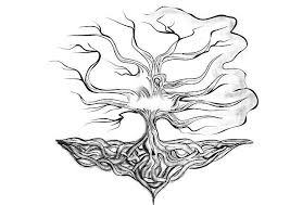 royalty free tree root tattoo clip art vector images