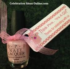 nail baby shower favors cheap baby shower favors you can make