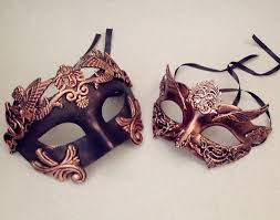 couples masquerade masks metalic gold silver gold masquerade by crafty4party