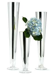 Small Flower Vases Cheap Small Silver Vases Wholesale Trumpet Bulk 28278 Gallery
