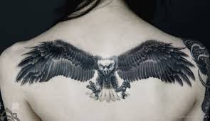 tattoo eagle girl 110 best flying eagle tattoos designs with meanings
