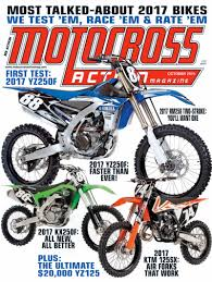 brand new motocross bikes motocross action magazine have you seen the new mxa jam packed