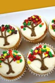 pint sized baker fall leaves cupcakes pinning this more because