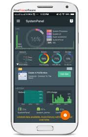 android cpu usage free android system information app see cpu memory usage of apps