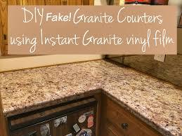 Faux Granite Transform Your Countertops With A Diy Fake Granite Counter Three