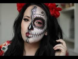 Dead Halloween Costumes Sugar Skull Dead Makeup Tutorial Halloween 2015 Nyx