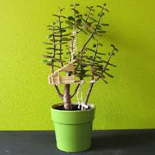 mini tree house in potted plant craftgawker