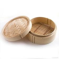 cercle de cuisine la de bateau à vapeur en bambou plein silun 20 5cm 8 pouces