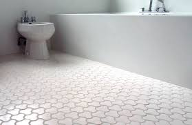 bathroom floor tile ideas and warmer effect they can give traba