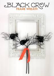 black crow frame wreath oh my creative