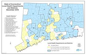 Connecticut State Map by Opm Data Elements For Municipal Benchmarks