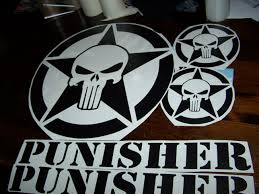jeep wave stickers jeep punisher star edition vinyl decal set jk tj cj yj xj zj wj
