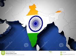 India On The World Map by India On The World Map 3d Render Stock Illustration Image 78191303