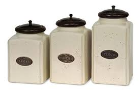 ceramic canisters for the kitchen imax 5358 3 ivory canisters set of 3 kitchen
