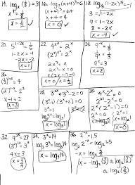 applications of logarithms worksheet worksheets