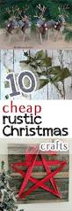 Cheap Holiday Craft Ideas - rustic christmas crafts craft ideas crafts for christmas