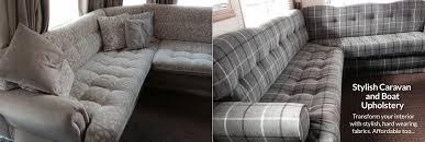 Interior Boat Cushion Fabric Affordable Caravan Boat And Motorhome Reupholstery