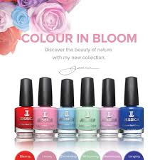 new jessica nails u0027in bloom u0027 collection