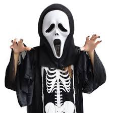 2016 1pc scary ghost face scream mask creepy for halloween