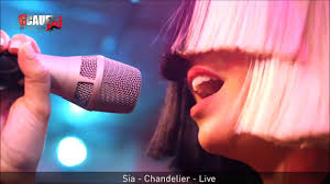 Sia Singing Chandelier Live Sia Chandelier Live From Nrj Radio
