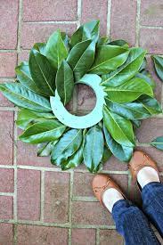 magnolia leaf wreath 15 minute magnolia leaf wreath tutorial magnolia wreath wreath