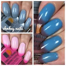 ehmkay nails lechat dare to wear mood polishes swatches and review