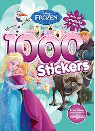 Frozen Storybook Collection Walmart Buy Disney Frozen 1000 Stickers Book At Low Prices In India