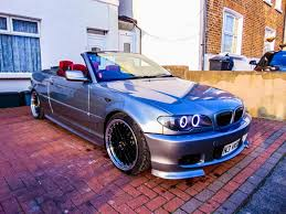 modified bmw 2005 55 bmw e46 320cd convertible fsh ono mot modified diesel 2 0