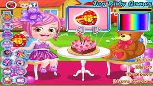 Valentine Cake Decorating Games by Baby Hazel Games Baby Hazel Valentine Dress Up Children Games