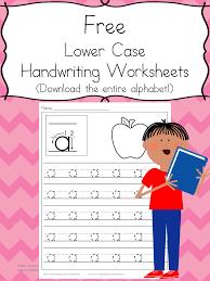 preschool handwriting practice free worksheets