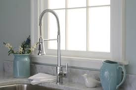 fancy industrial style kitchen faucet 34 for your small home