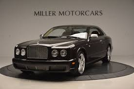 bentley rolls royce phantom 2009 bentley brooklands stock 7145 for sale near greenwich ct