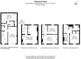 4 bed town house to rent in ormond yard st james park london