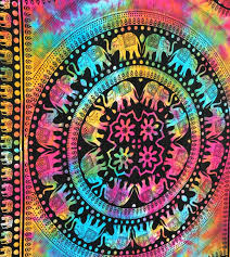 tie dye tapestries awesome wall hangings bedspreads u0026 bed covers