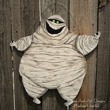 halloween decorated door hotel transylvania inspired mummy murray the mummy front door