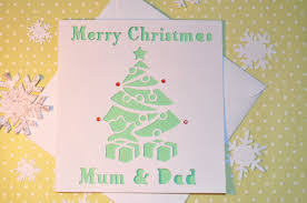 Homemade Christmas Card Ideas by Sweet Pea Design Christmas Cards