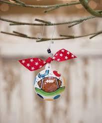 football jersey and football ornament football ornaments